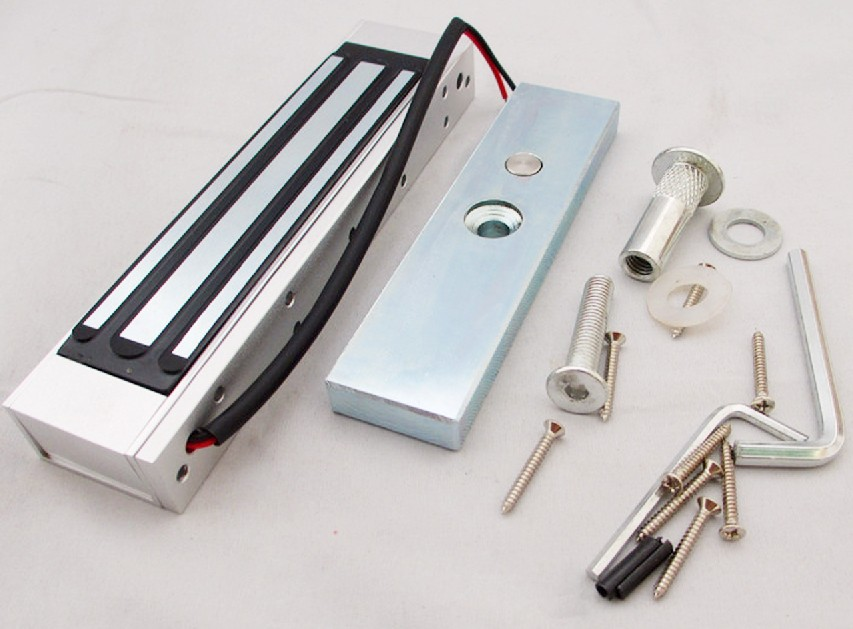 Automatic door lock electromagnetic magnetic lock glass door electromagnetic lock set electric lock
